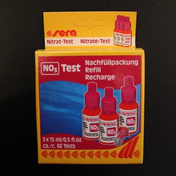 Sera NO3-Test (Nitrati) 60 misurazioni